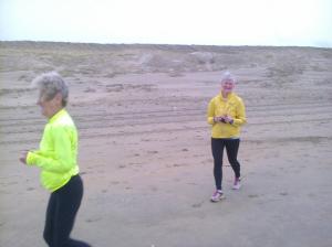 Paulien en Rita Goedemorgenloop
