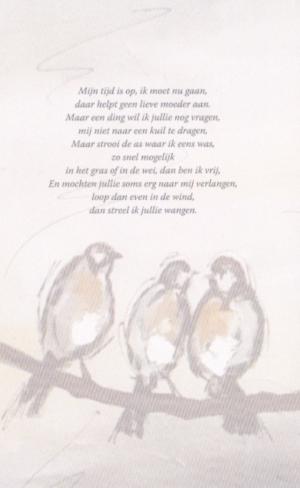 Gedicht van Kees